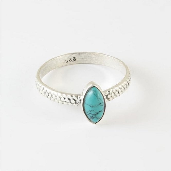 Jo Bali Luna Marquise Turquoise Ring