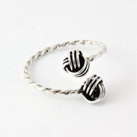 Knot Twisted Toe Ring
