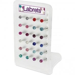 Labret Display