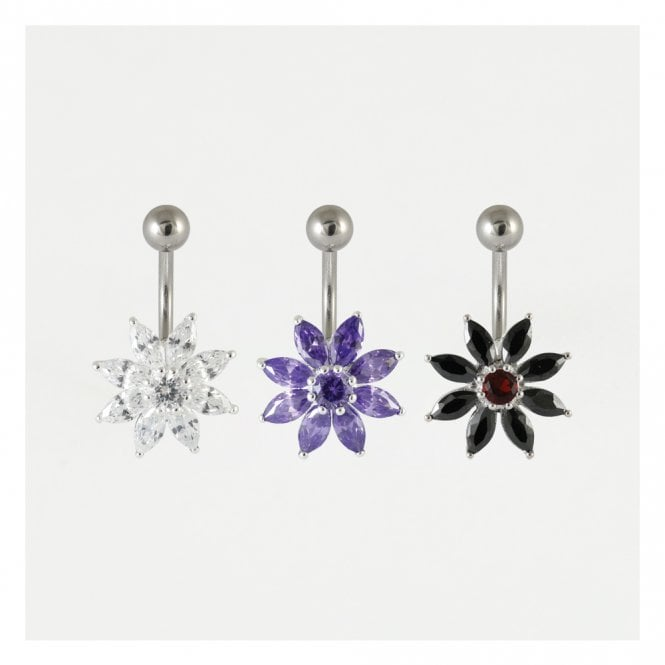 Large Flower Belly Bar