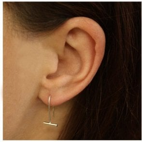 Loop & Bar Earrings