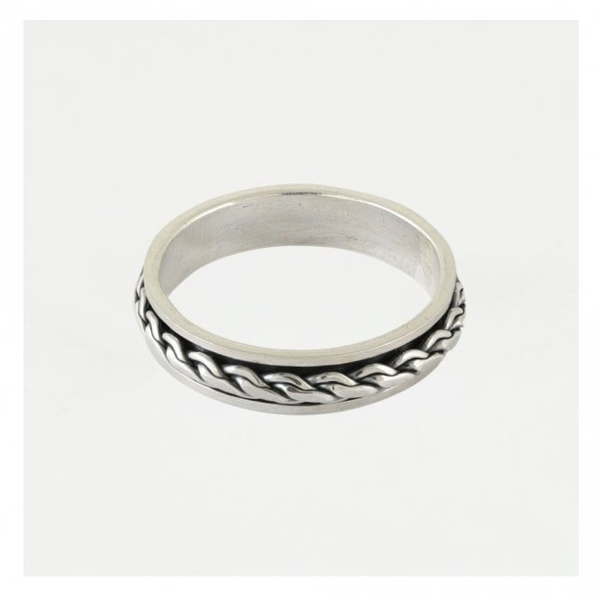 Men's Chain Swivel Ring