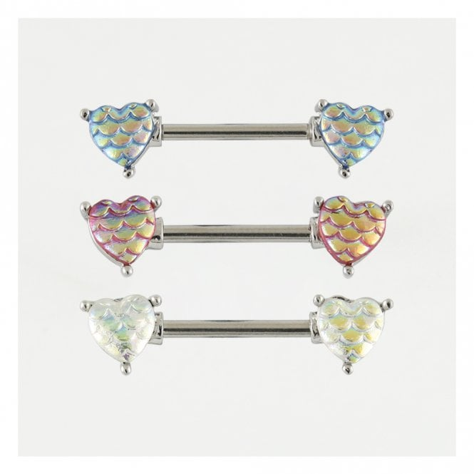 Mermaid Hearts Nipple Bar