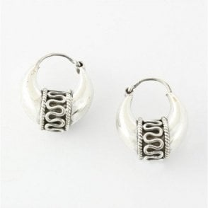Mia  Hoop Earrings - 12mm