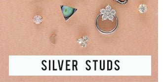 Silver studs 3