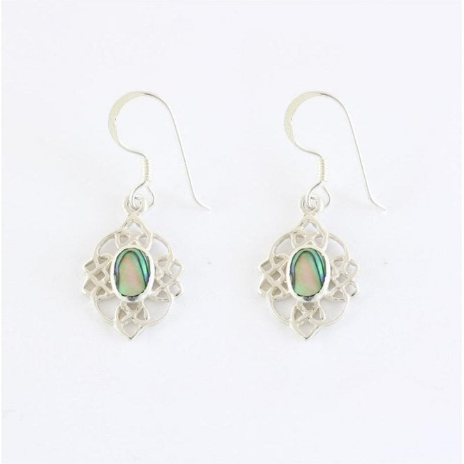 Ornate Abalone Set Earrings