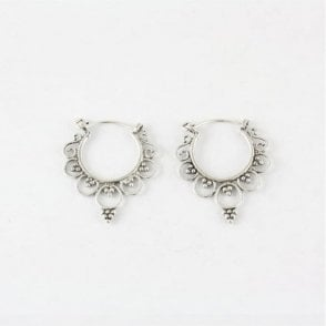 Ornate Earrings - 22mm