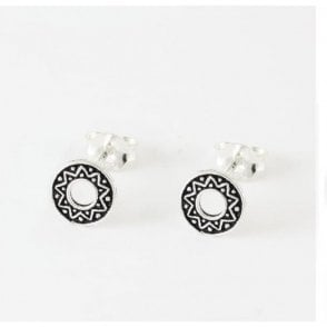 Ornate Round Stud