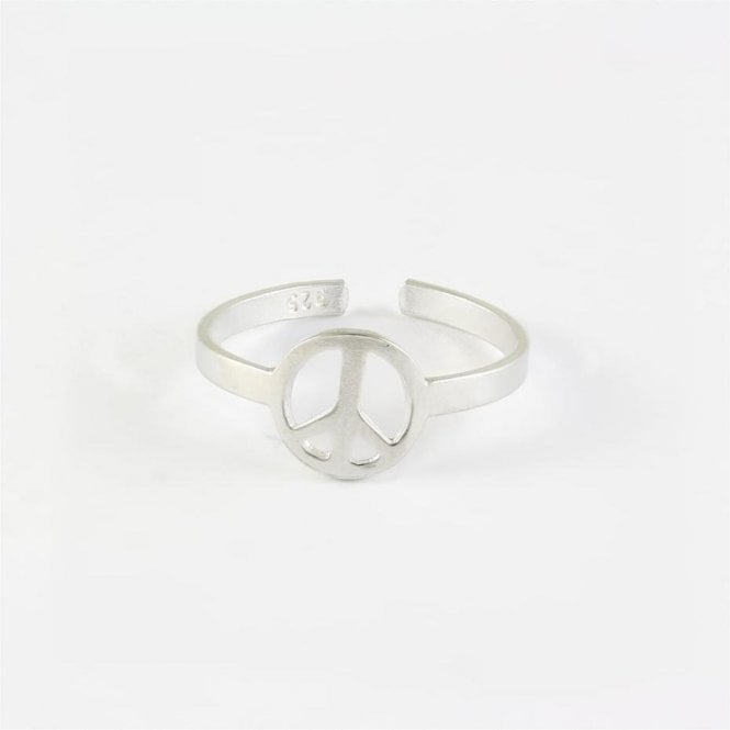 Peace Toe Ring