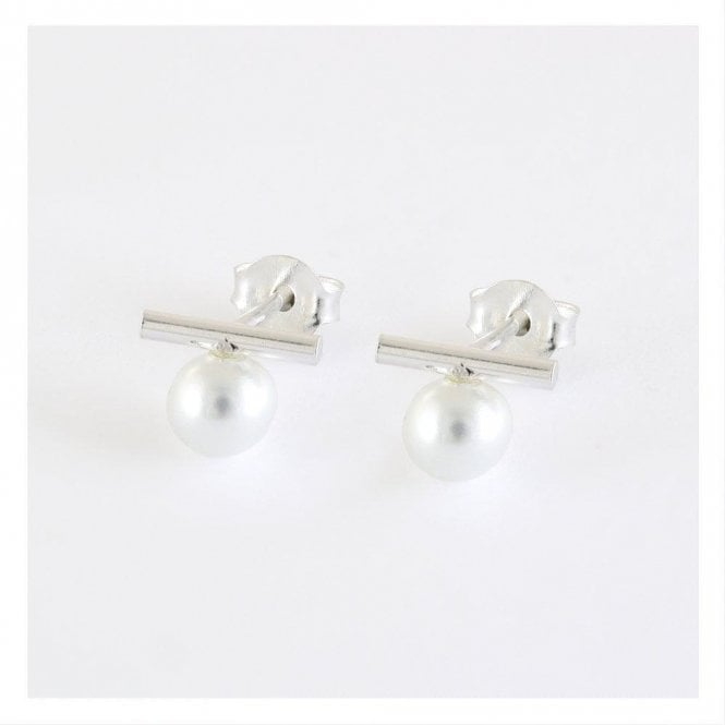 Pearl and Bar Studs