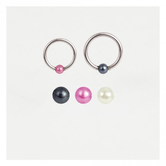 Pearl Ball Closure Ring (BCR) - 1.2mm