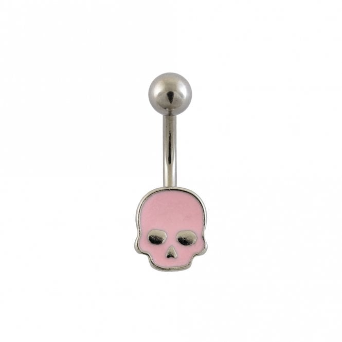 Pink Skull Belly Bar