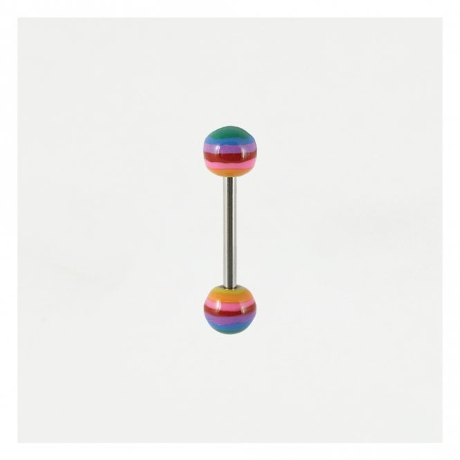 Rainbow Straight Barbell