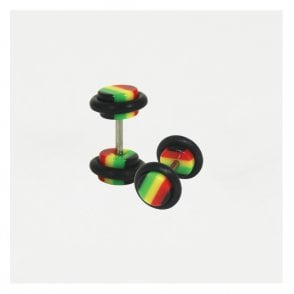 Rasta Fake Plug 8mm