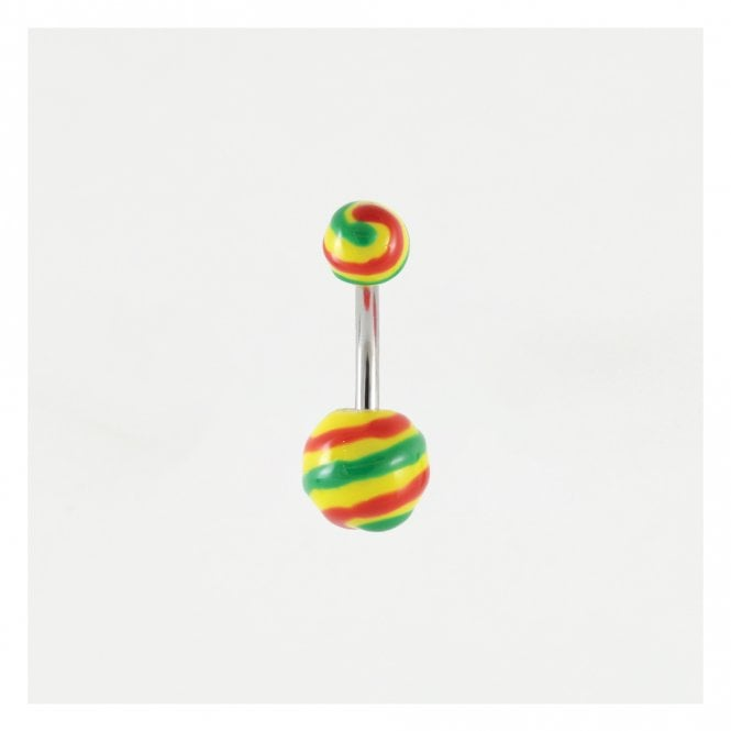 Rasta Striped Belly Bar