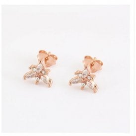 Rose Gold Gemset Studs