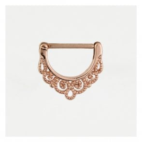 Rose Gold Ornate Nipple Clicker