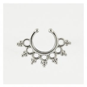 Sahasrara Flower Septum Clip On