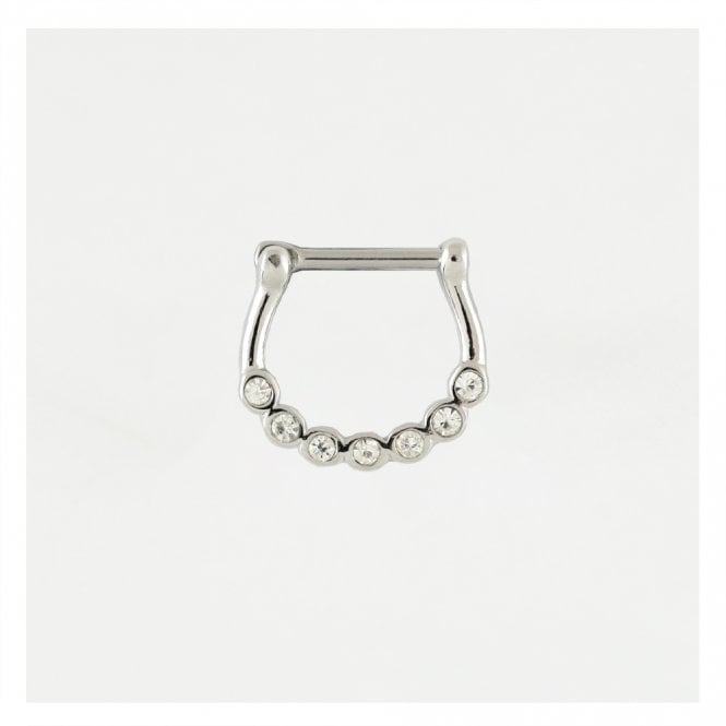 Sparkly Gem Septum Clicker