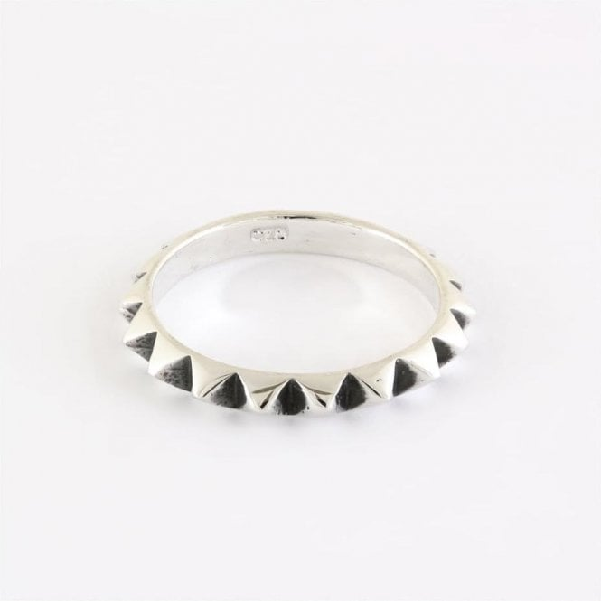 Spikey Band Ring