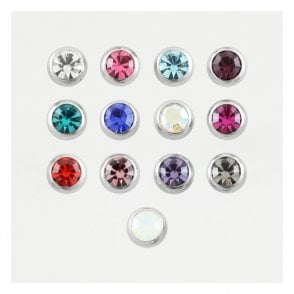 Steel Jewelled Ball 1.2mm & 1.6mm