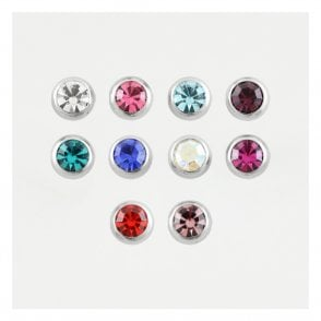 Titanium Jewelled Ball  1.2mm & 1.6mm