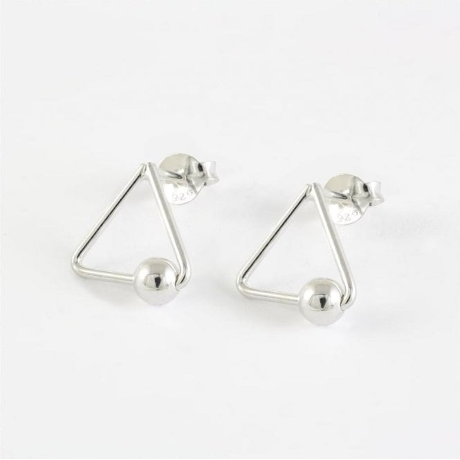 Triangle and Ball Stud