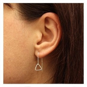 Triangle Through Earrings