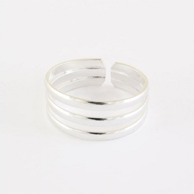 Triple Band Toe Ring