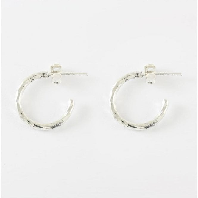 Twisted Half Hoop Earrings