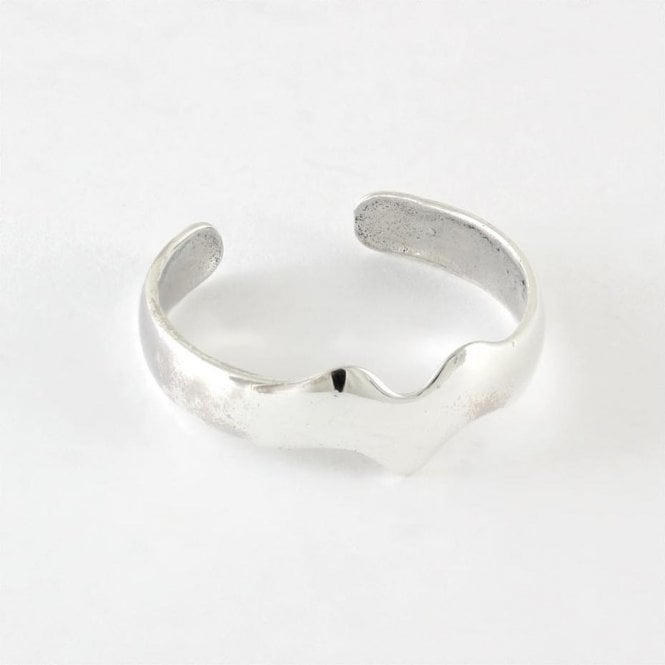 Wave Band Toe Ring