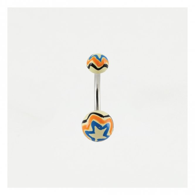 Zig Zag Belly Bar